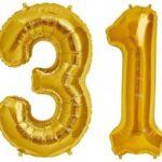 numeric balloon 1